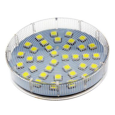 1pc gx53 5w 280-350 lm led reflektor 36 led perle smd 5050 toplo bijelo / hladno bijelo / prirodno bijelo 220-240 v
