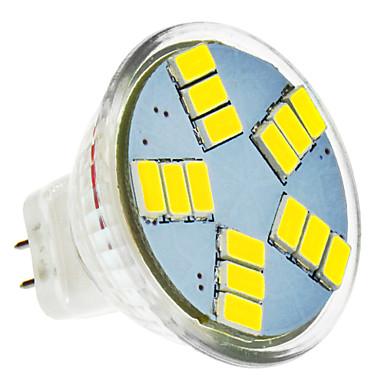 LED Spot Işıkları MR11 15 led SMD 5630 Serin Beyaz 420lm 5500-6500K DC 12V