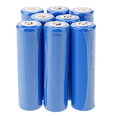 ICR 5000mAh 18650 Li-ion Rechargeable Battery(8pcs)