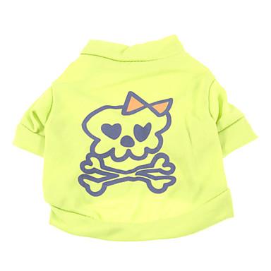 Summer Terylene T-Shirt for Dogs Green XS / M / S / L