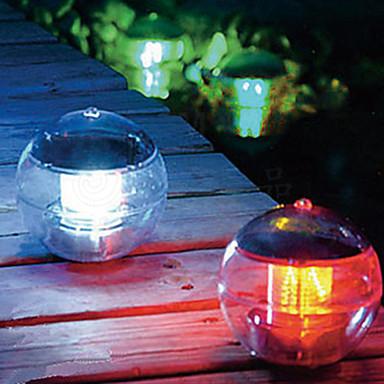 Güneş Enerjisi Renk Yüzen LED Işık Balo Göl Gölet Havuz Lambanın Değiştirilmesi (CIS-57230)