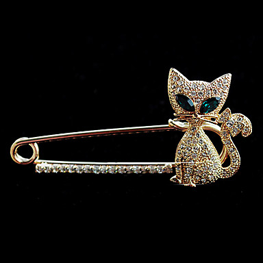 Women's - Crystal Fashion Brooch For Wedding / Party / Daily