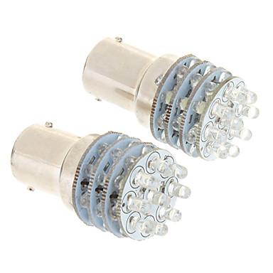 1156 BA15S(1156) Araba Soğuk Beyaz 6000 Gösterge Işıkları Plaka Aydınlatma Lambası Sinyal Lambası Fren Işığı