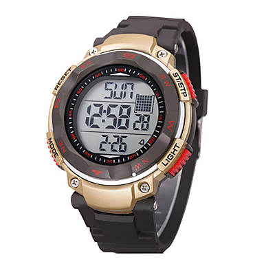 Children/Men's SYNOKE LEO Dial Digital PU Band Water Resistant Swimming Wrist Watch Cool Watch Unique Watch