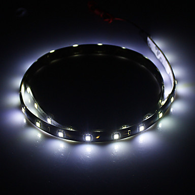 0.6M 1.5W 30x1210SMD 105LM 6000K Cool White Light LED Strip Light (DC 12V)