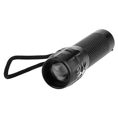 LED Fenerler LED 200 lm 3 Kip Zoomable Ayarlanabilir Fokus Kamp/Yürüyüş/Mağaracılık Günlük Kullanım Bisiklete biniciliği Seyahat Çalışma