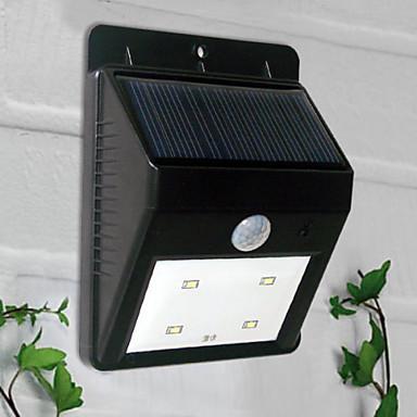 1pc Duvar ışığı / Bahçe Işıklar 4 LED Boncuklar Yüksek Güçlü LED Dekorotif Serin Beyaz