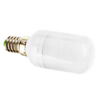 E14 LED Spot Işıkları 15 led SMD 5730 Sıcak Beyaz 120-140lm 2800-3200K AC 220-240V