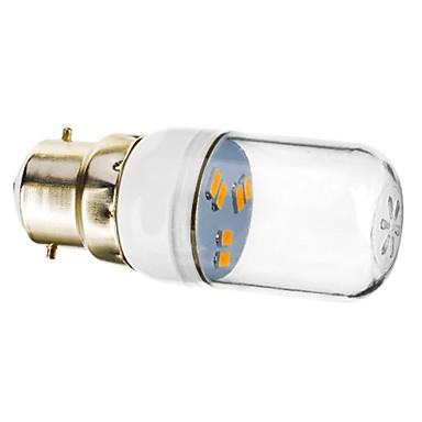 SENCART 70-90lm B22 LED Σποτάκια 6 LED χάντρες SMD 5730 Θερμό Λευκό 220-240V