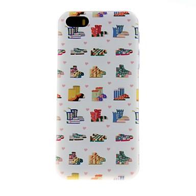 Için iPhone 5 Kılıf Süslü Pouzdro Arka Kılıf Pouzdro Fayans Sert PC iPhone SE/5s/5