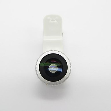 Universal Clip On Fish-Eye Lens for iPhone 5 / 4 / 4S and More