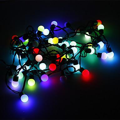 5m Dizili Işıklar 50 LED'ler RGB Renk Değiştiren 220 V
