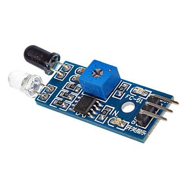 (Arduino için) ücretsiz dupont kablolar için lm393 ışık sensörü, ışığa duyarlılığı ışık sensörü modülü