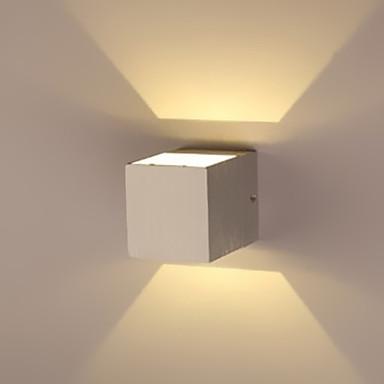 Duvar ışığı Ortam Işığı 1W Birleştirilmiş LED Modern / Çağdaş Eloktrize Kaplama