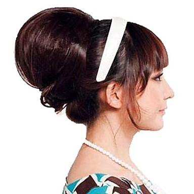 Şort Uzun Sentetik Saç Ek saç Bukle Klasik Klips İçeri / Dışarı 1pc Other Günlük Yüksek kalite Kadın's Sentetik Genişlemeler Gerçek Saç