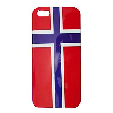 Uyumluluk iPhone 5 Kılıf Kılıflar Kapaklar Temalı Arka Kılıf Pouzdro Bayrak Sert PC için iPhone SE/5s iPhone 5