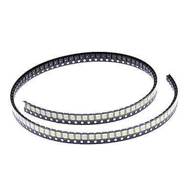 DIY 3528SMD 1000-2500MCD 6000-6500K Soğuk Beyaz Işık LED Chip (2.8-3.6V/100pcs)