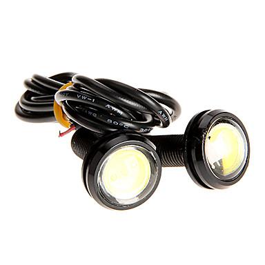 Çifti 3W High Power Arka Lambası Beyaz Renk 2786 Ultra-ince Led Eagle Eye Kuyruk Işık Yedekleme LED
