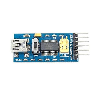 FT232RL USB to Serial 232 TTL Adapter Module for Funduino  (3.3~5V)