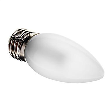 1pc 3 W 100-150 lm E26 / E27 LED Mum Işıklar C35 25 LED Boncuklar SMD 3014 Dekorotif Sıcak Beyaz 220-240 V / RoHs
