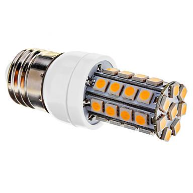 LED Mısır Işıklar T 36 SMD 5050 480 lm Sıcak Beyaz Kısılabilir AC 220-240 V