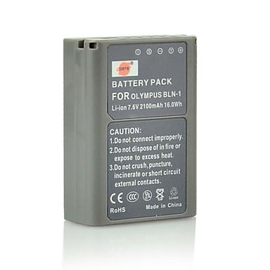 DSTE 7.6V 2100mAh bln-1 BLN1 batteria Li-ion e ci spina caricabatterie dc133 per Olympus OM-D E-M5 fotocamera EM5