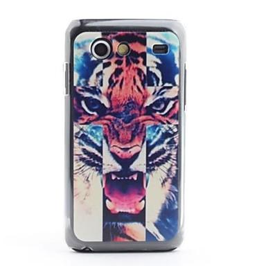 Tiger Cabeça Padrão de proteção PVC de volta caso para I9070 Samsung Galaxy S antecipadas