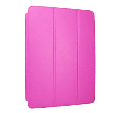 Pouzdro Uyumluluk Apple Satandlı / Oto Uyu / Uyan / Origami Tam Kaplama Kılıf Solid PU Deri için iPad Air