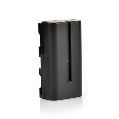 7.4V 2900mAh NP-F330 F550 F570 Li-ion batteri & os plug DC01 til Sony CCD-SC5 CCD-trv80pk DCR-trv820 og mere