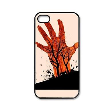 IPhone 4/4S için Evil Dead Desen Plastik Hard Case