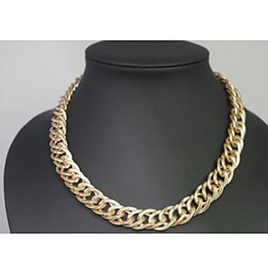 반짝 두께의 알루미늄 체인 목걸이의 shixin® 18인치 섹션