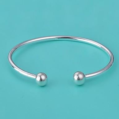De moda de argint femei argint-placat cu Bangles (1 buc)