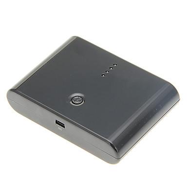 12000mah portabil Dual USB bancar putere cu adaptoare stabilite pentru iPhone / iPad și alții (5V 1a / 2.1a, 30pin, culori asortate)