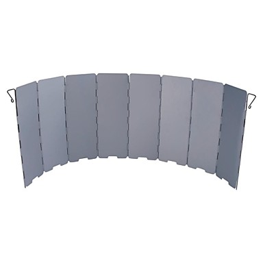 Stove Windshield Single Foldable Aluminium for