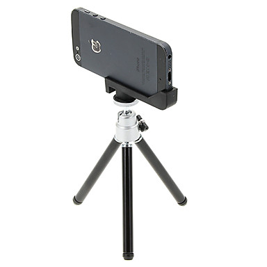 Plastik 121mm Bölümler Ceptelefonu Dijital Kamera Tripod