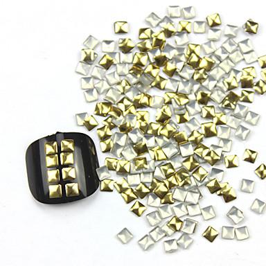 300 pcs Nail Art Takımı Tırnak Takısı tırnak sanatı Manikür pedikür Günlük Soyut / Moda / Nail Jewelry / Metal
