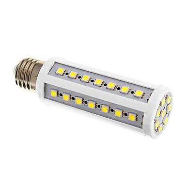 9W E26/E27 LED Mısır Işıklar 50 SMD 5050 600 lm Serin Beyaz AC 220-240 V