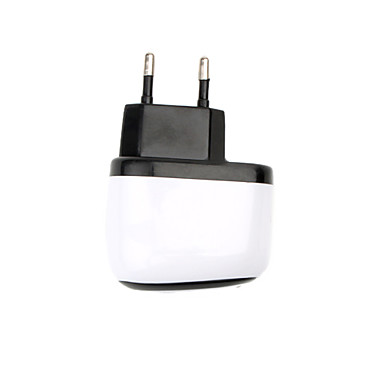 Portable EU Plug Travel Charger for iPhone 5 & iPhone 4/4S (110-240V)