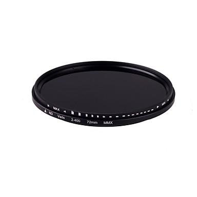 ! 014104 ücretsiz kargo nd400 için 72mm ince sürgü değişken nd filtre nötr yoğunluk ayarlı nd2