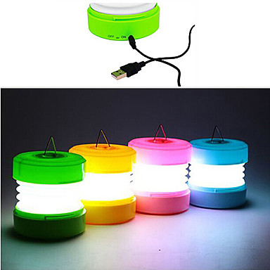 ABS USB LED Night Light (Vegyes Color)