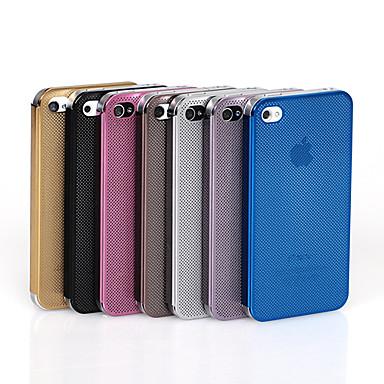 abordables Coques pour iPhone 5-Cas Toophone ® JOYLANDSolid Couleur Net Conception pour iPhone 5/5S (couleurs assorties)