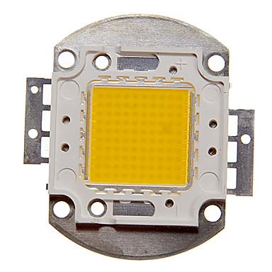 zdm diy 100w 8500-9500lm sıcak beyaz / soğuk beyaz / doğal beyaz ışık entegre led modülü (dc33-35v 3a) projeksiyon için hafif altın tel kaynak bakır dirsek kaynak