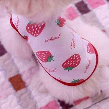 Câine Tricou Îmbrăcăminte Câini Maro Rosu