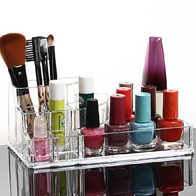 Banyo Gereçleri Çok-fonksiyonlu Çevre-dostu Depolama Moda Arkilik Plastik 1 parça - Banyo banyo organizasyonu