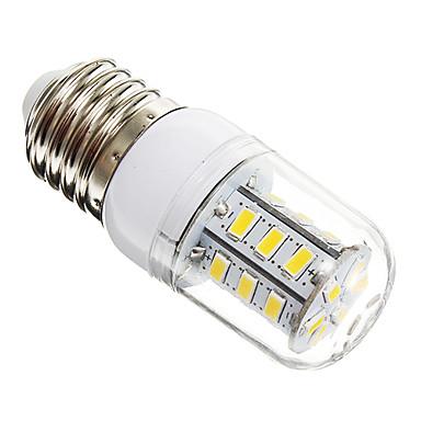 450 lm E26/E27 LED Mısır Işıklar T 24 led SMD 5730 Sıcak Beyaz AC 220-240V