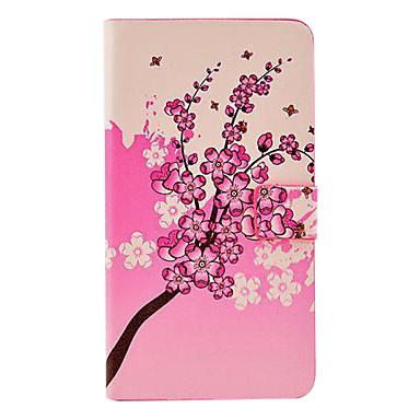 Için Samsung Galaxy Note Kart Tutucu / Satandlı / Flip / Temalı Pouzdro Tam Kaplama Pouzdro Çiçek PU Deri Samsung Note 3