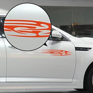 Red Flow Liner model decorative autocolant auto