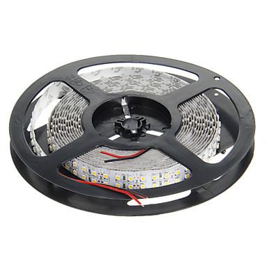 5m 1200 LED'ler 3528 SMD Sıcak Beyaz 12 V
