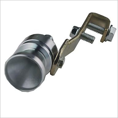 Araba Turbo Ses Islık Turbocharger - Gümüş (Boyut M)