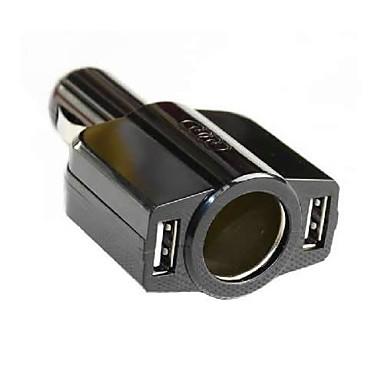 Carregador Automotivo Carregador USB Portas Multiplas 2 Portas USB DC 12V-24V para